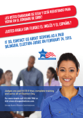 If so, contact us about serving as a paid bilingual Election Judge on