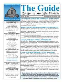 The Guide - E-churchbulletins.com
