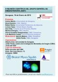 Zaragoza, 16 de Enero de 2015 Ponentes II REUNIÓN CIENTÍFICA