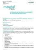 nota informativa previa a la adhesión al seguro masalud antares