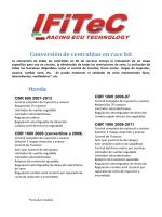 Modelos - IFiTec Racing ECU