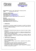 ECONOMETRIA 1 - Inicio - Universidad de los Andes