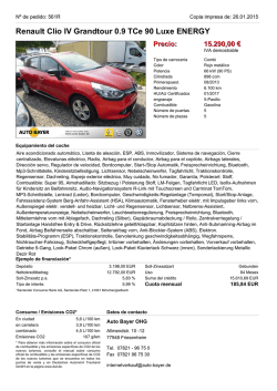 Renault Clio IV Grandtour 0.9 TCe 90 Luxe