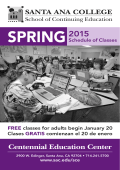 CEC Schedule Spring 2015 mailer (SORTED BY PROGRAM)