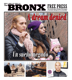 A dream denied - The Bronx Free Press