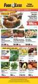 98¢/lb. - Food 4 Less Woodland