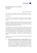 IMAGINARIUM Hecho Relevante - Bolsas y Mercados Españoles