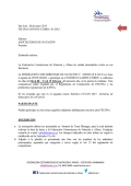 Invitación Torneo clasificatorio del 06 al 08 y 13 al 15