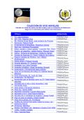 Listado por orden alfabético de Título