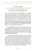 Promover la participación de la juventud mexicana en las