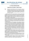 Disposición 529 del BOE núm. 19 de 2015