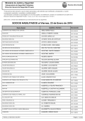 SOCIOS HABILITADOS al Viernes, 23 de Enero de 2015