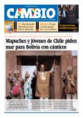 Mapuches y jóvenes de Chile piden mar para Bolivia con