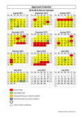 School Calendar Template - the stewart county schools home page