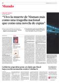 """""""Vivo la muerte de Nisman más como una tragedia"""