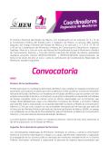 Convocatoria - Instituto Electoral del Estado de México