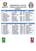 Horarios - Prodefut Soccer