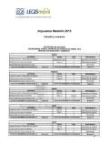 Impuestos Medellín 2015