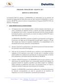PROGRAMA FUNDACIÓN SEPI – DELOITTE 2015 BASES DE LA