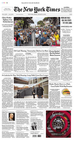 NYT Front Page - The New York Times