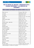 Descargar la lista de centros de jubilados y pensionados por el