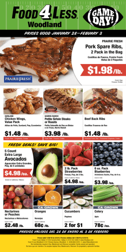 $1.98/lb. - Food 4 Less Woodland