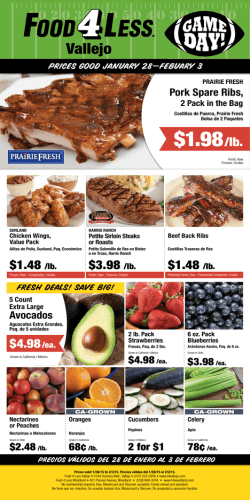 $1.98/lb. - Food 4 Less Vallejo
