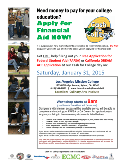 Want a Million dollars - Los Angeles Mission College