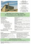 Weekly Bulletin - Catholic Church of the Resurrection