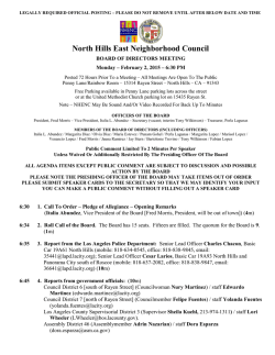 North Hills East Neighborhood Council