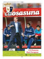 OSASUNA 1 Febrero 2015:Osasuna 2012-13