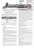 BOLETÍN JUDICIAL N° 17 de la fecha 26 01 2015