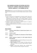 XXVI ASAMBLEA NACIONAL DE PASTORAL EDUCATIVA