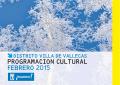 Programación cultural febrero 2015