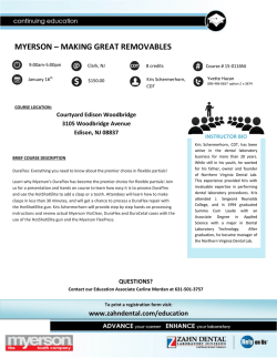 MYERSON – MAKING GREAT REMOVABLES