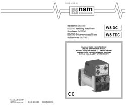 manuale - NSM Generators