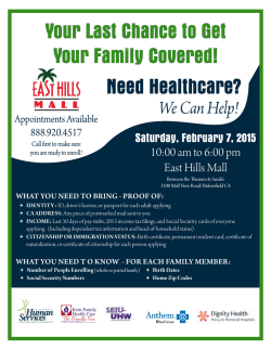 Your Last Chance to Get Your Family Covered!