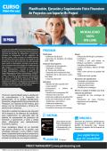 Planificación, Ejecución y Seguimiento Físico Financiero de
