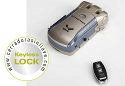 Keyless Lock - Cerradura de seguridad invisible
