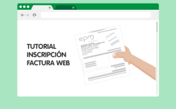 TUTORIAL INSCRIPCIÓN FACTURA WEB