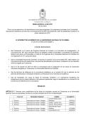 """RESOLUCIÓN No. 04 DE 2015 (30 de enero) """"Por la cual se"""