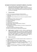 DIPLOMADO EN PROCESOS DE CUMPLIMIENTO AMBIENTAL