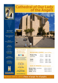 FEBRUARY Bulletin (PDF) - the Cathedral of Our Lady of the Angels