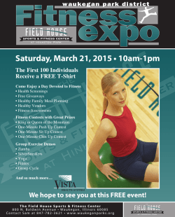 Saturday, March 21, 2015 • 10am-1pm