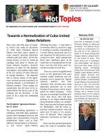 Hot Topics - Latin American Research Centre
