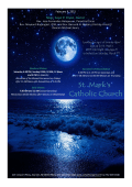St. Mark Catholic Church Sea Girt NJ bulletin for