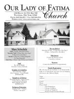 Mass Schedule - John Patrick Publishing Company