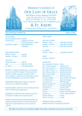 Parish Bulletin - Our Lady of Grace