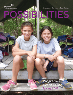 Possibilities - Girl Scouts of Nassau County