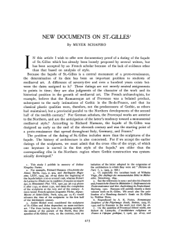 New Documents on St.